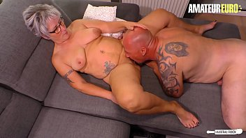 AMATEUR EURO - Horny Chubby German Granny Wants To Have Sex With The Plumber