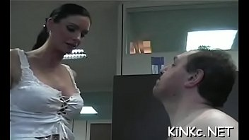 Free streaming bondage video Mistress machine tortures dong