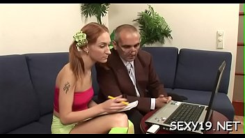 Wild and mind-blowing lesson with sexually excited older teacher