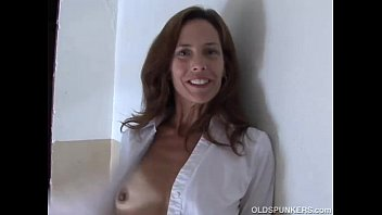 Porno sherry - Gorgeous mature red head in stockings