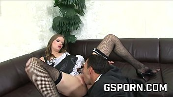 Lea Lexis and Jenny Noel fucked in their asses by a rough cock