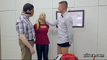Kinky teenie was brought in anal nuthouse for harsh therapy