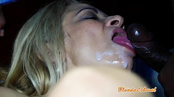 BlondeLiberal - New trailer 2. Doing anal and DP without a condom with the hyper cock Gostonegro Oficial and his friend, and they cum in my mouth.