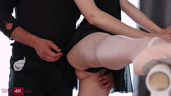 Clockwork Victoria - Ballet dancers have sensual quickie that ends with creampie