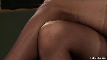 Busty shemale dom anal bangs man sub