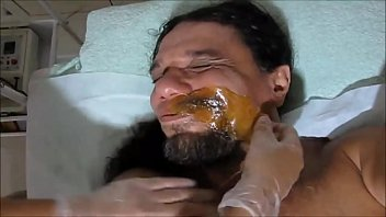 SHAVING YOUR MUSTACHE WITH HOT WAX TO RECORD PORNO KISSING THE BRAND NEW NINFETTI