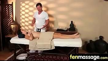 Gorgeous masseuse explores the body of a sexy lesbian beauty 10