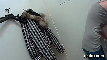 Striking czech kitten is tempted in the mall and reamed in pov