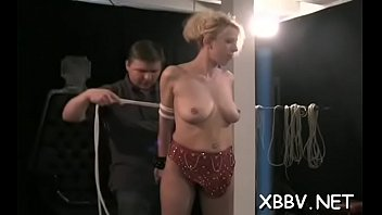 Tit bondage is a peculiar treat
