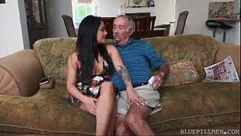 Hottest hot sexy milfs - Sexiest makeout b/w grandpa and milf