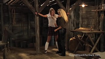 Slaves Homecoming: Naughty Maid Facesitting On Young Slave