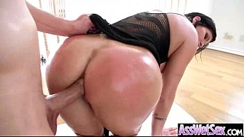 Anal Sex On Camera With Big Butt Curvy Oiled Girl (shay fox) clip-30