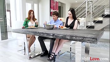 MILF loves her DAUGHTER's taste in men- Dani Jensen