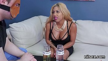 Wicked nympho is brought in anal asylum for awkward treatment