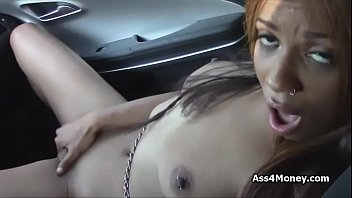 Busty but broke black craves for cock