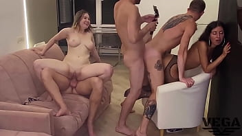 PHOTOGRAPHER STARTED AN ORGY AND FUCKED MY, BISEXUAL ORGY