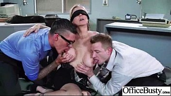 Sex Tape With (julia ann) Big Tits Hard Worker Girl In Office clip-17
