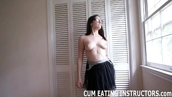 You can cum but only if you promise to eat it CEI