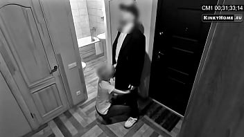 hidden cam - husband catches wife with lover