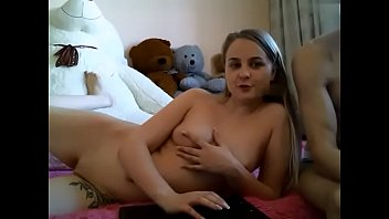 Cute young girl teasing on cam at javamem.com
