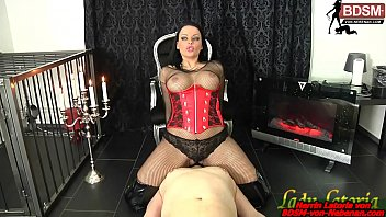 slave must german domina lick ass facesitting and piss games