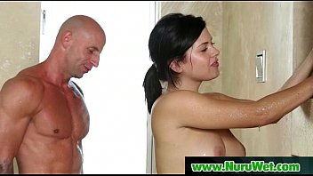 Hot Asian Masseuse Gives Soapy Massage And Gets Pounded 02