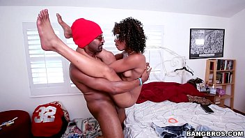 BANGBROS - Petite black pussy fucked by big dick
