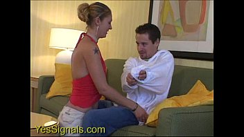 YesSIgnals - Hot blonde blind date humps him and dumps him