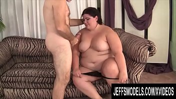 Jeffs Models - Charming Brunette BBW Juicy Jazmynne Blowjob Compilation 1