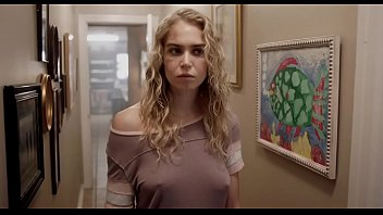 "Penelope Mitchell with Nicolas Cage in ""Between Worlds"""