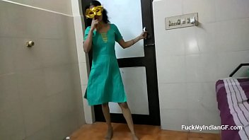 Petite Skinny Indian GF Dancing In Shalwar Suit Stripped Naked For Her Boyfriend