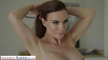 Naughty America Mrs. Culver showers with and fucks son's friend