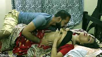 CoverIndian horny unsatisfied wife having sex with BA pass caretaker:: With clear Hindi audio