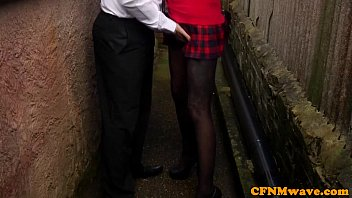 Femdom Chantelle Fox and pal bj action thumbnail