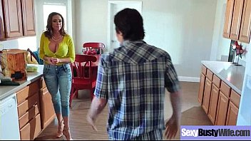 Big Tits Slut Housewife (Ariella Ferrera) Like Hard Style Intercorse movie-06