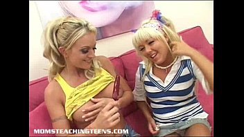 Adult teaching course Innocent blonde teen learns about fucking and facials
