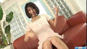 HousewifeAzumi Harusaki enjoys toys up her cunt