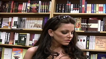 Picking Up the Big Tits Brunette MILF from the Library and Fucking Her Hard