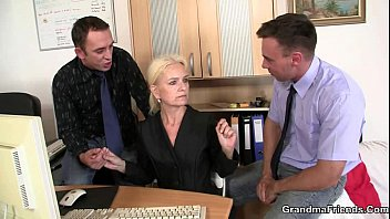 Job interview gangbang Job interview leads to threesome