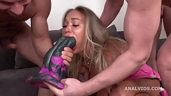 DAP and Roses, Monika Fox 4on1, Anal Fisting, DAP, Manhandle, Monster ButtRose, Squirt, Swallow GL478