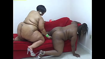 Lesbian BBBW #5 - Super size black sluts don't need a man to satisfy their huge sexual appetites