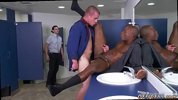 Straight guy seduced during physical gay xxx The HR meeting