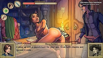 Fucking a hot milf witch teacher with her wand in her gorgeous ass and pussy l My sexiest gameplay moments l Innocent Witches l Part #1