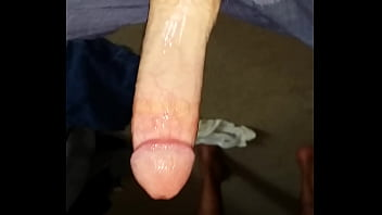 Another big white dick up my black ass