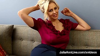 Stunning Busty Professor Ms. Julia gives her Masturbation 101 Class for her eager young students who can't get enough of this Horny Pussy Rubbing Milf! Full Video & Julia @JuliaAnnLive.com
