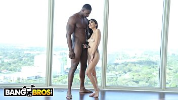 BANGBROS - Brunette Latina Riding A Big Dick On Monsters Of Cock!