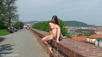 Hot Babe MonaLee Has Fun In Public Streets Preview