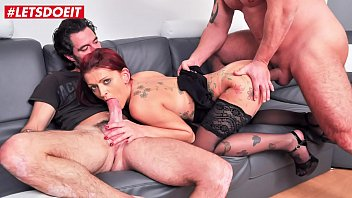 AMATEUR EURO - French Lola Candy Loves To Gets Her Halls Filled With Big Dicks