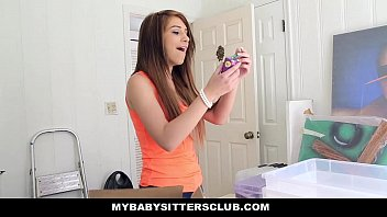 MyBabySittersClub - Petite Baby Sitter Fucked On New Years thumbnail