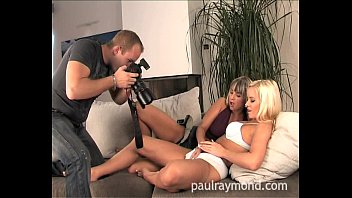 PaulRaymond - Threesome with two swimsuit models
